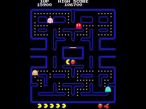 Pac-Man test with speedup cheat