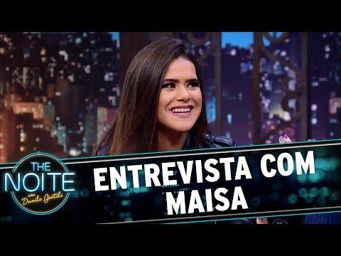 Entrevista com Maisa Silva  The Noite 091017