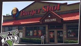 GO INSIDE BURGER SHOT IN GTA 5!