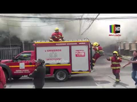 Reportan Incendio En El Inmueble Donde Funcionaba La Discoteca Forum