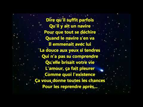 Edith Piaf - Milord paroles (lyrics)