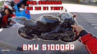 WHICH IS BETTER? BMW S1000RR OR YAMAHA R1? | MANILA CITY RIDING BMW S1000RR | MY FIRST BIKE | 26