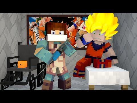 Minecraft: CIRURGIA NO GOKU  - (Dragon Ball Minecraft)