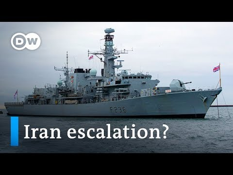 Iran tries to seize British tanker in Strait of Hormuz | DW News
