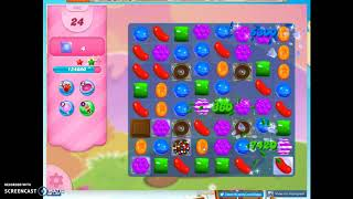 Candy Crush Level 486 Audio Talkthrough, 3 Stars 0 Boosters