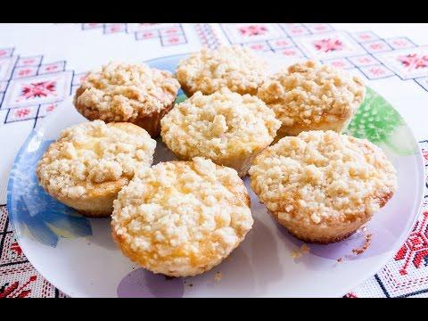 МАФФИНЫ С ЯБЛОКАМИ вкуснейший рецепт МАФІНИ З ЯБЛУКАМИ рецепт Яблочные кексы просто и вкусно