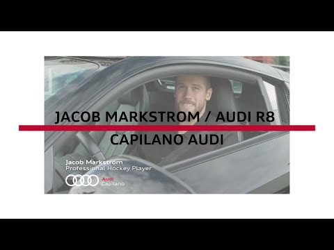 Jacob Markstrom Is Stoked About His New Audi R8 V10 Coupe From The Team At Capilano Audi Youtube
