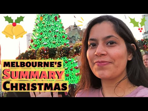 First Summer Day In Melbourne | Costco Shopping | Christmas Decorations In CBD Melbourne