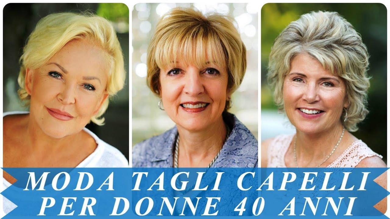 Taglio capelli per donne di 60 anni
