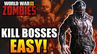 "EASIEST Way to Kill ALL Boss Zombies in ""THE FINAL REICH!"" - (Call of Duty WW2 Zombies)"