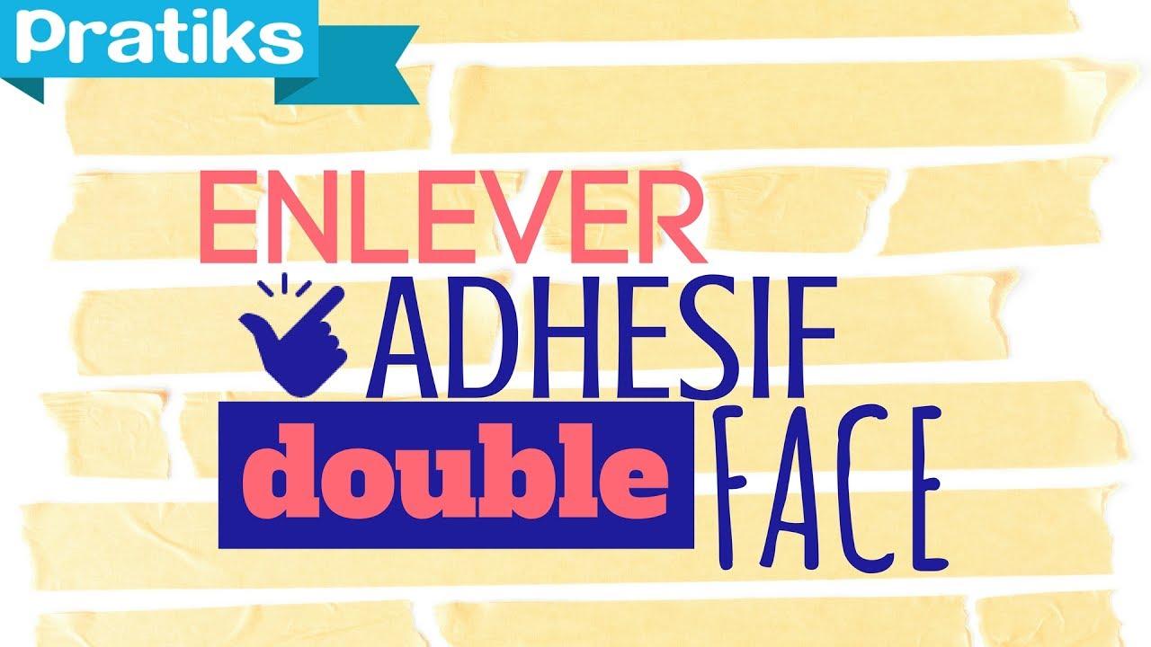 Astuce Pour Décoller Du Papier Peint comment enlever de l'adhésif double face ?