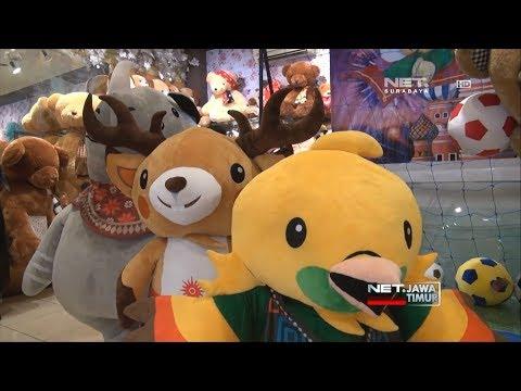 Pembuatan Boneka Maskot Asian Games - NET. JATIM