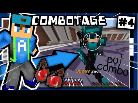 """✔""""Pot Combo!!"""" // COMBOTAGE V.4 // Minecraft PE PvP Montage [Zehox Server]"""