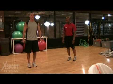 Side Lunge with Lateral Raise