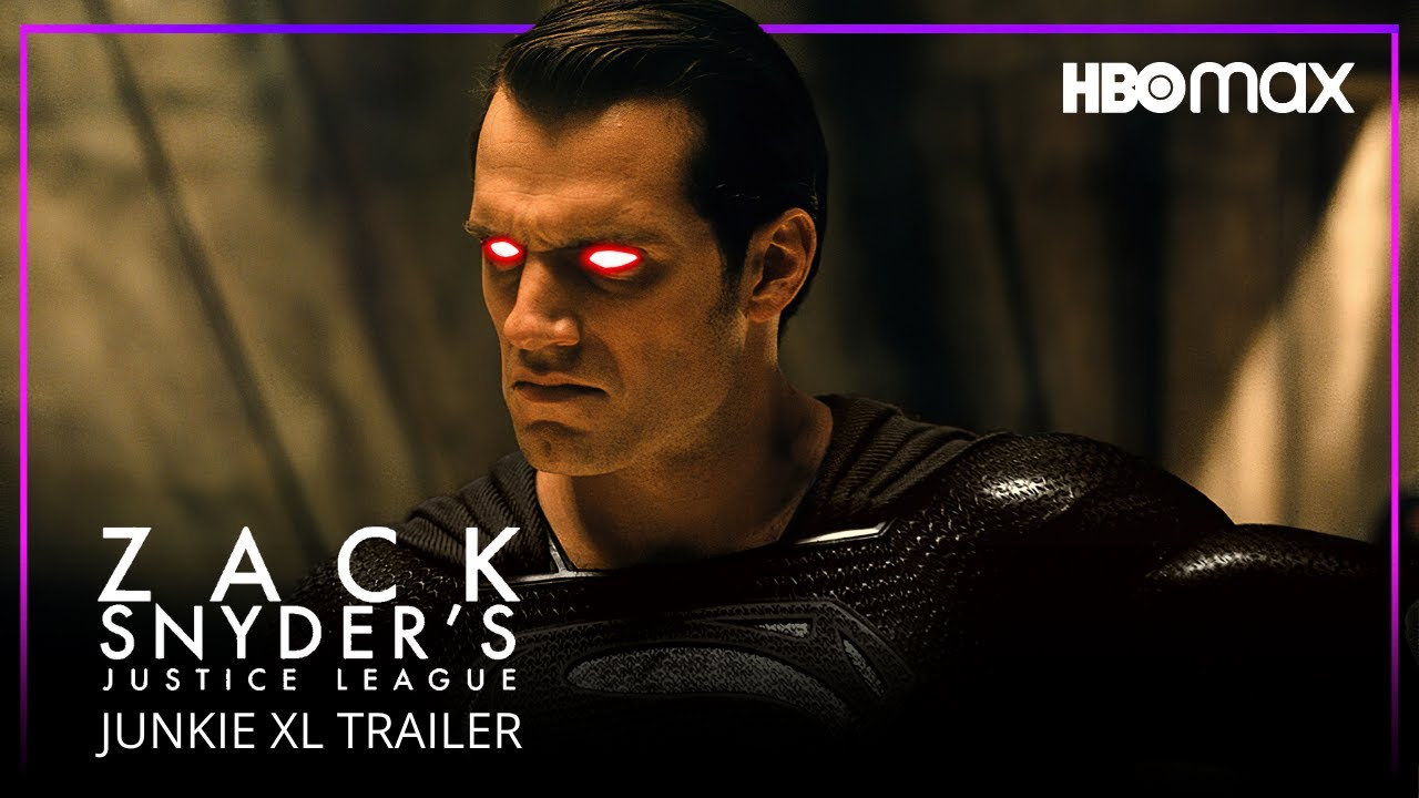 Justice League Snyder Cut (2021) Junkie XL Trailer | HBO Max