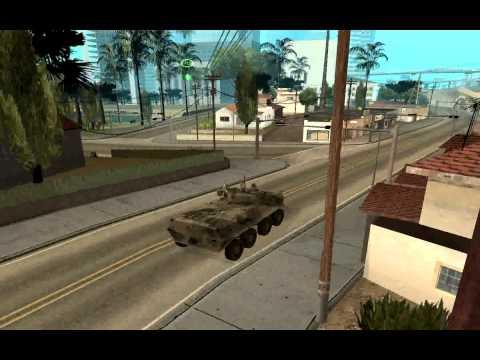 BTR-90 with Interior GTA San Andreas