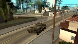 BTR-90 with Interior GTA San Andreas