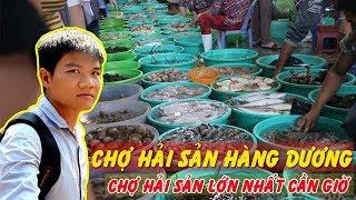 Chợ Hải Sản Hàng Dương Cần Giờ 2019 -  Chợ Hải Sản Tươi Sống ở Cần Giờ, TP. HCM