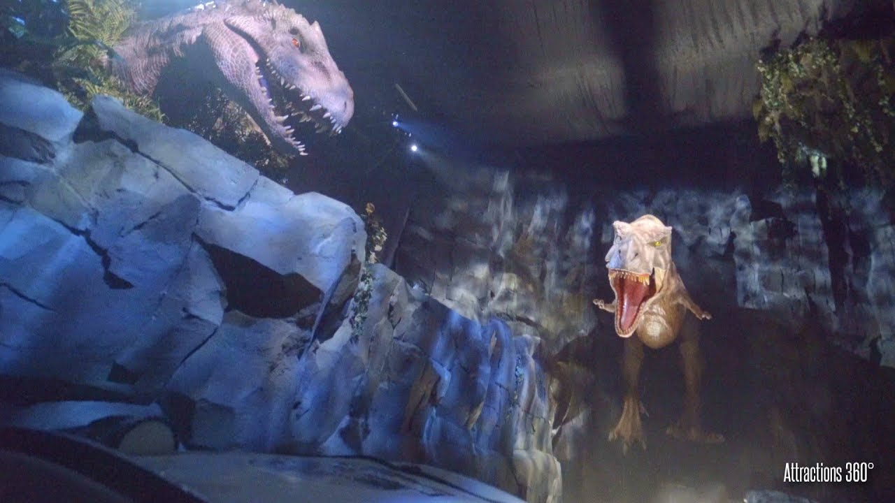 NEW Jurassic World Ride at Universal Studios Hollywood