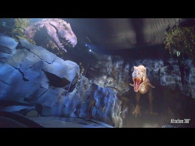 NEW - Jurassic World Ride at Universal Studios Hollywood