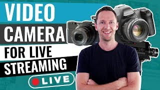 Learn how to use a video camera for live streaming, or set up your dslr as webcam (super simple, and delivers huge boost in livestream quality!) plus, we...