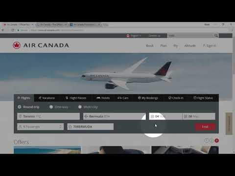 How To Apply Air Canada Promo Code?