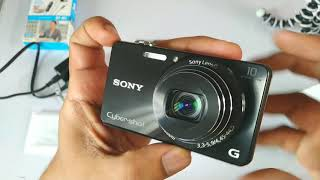 Sony Cybershot DSC WX220 Hands-On and opinion | Full Review in Hindi