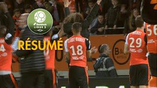 FC Lorient - Paris FC ( 2-0 ) - Résumé - (FCL - PFC) / 2017-18
