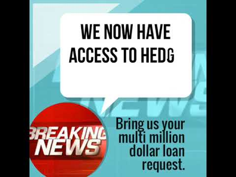 We now have access to Hedge Fund Capital