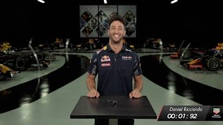 The Red Bull Racing 1.92 Second Challenge: Can! - Daniel Ricciardo thumbnail