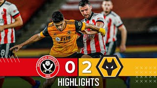 Sheffield United 0-2 Wolves | Premier League Highlights | Jimenez and Saiss down Blades