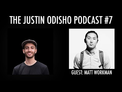 The Justin Odisho Podcast Ep. 7 - Matt Workman of Cinematography Database