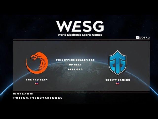 TNC PH vs Entity Gaming Game 2 (BO3) | WESG PH Qualifiers