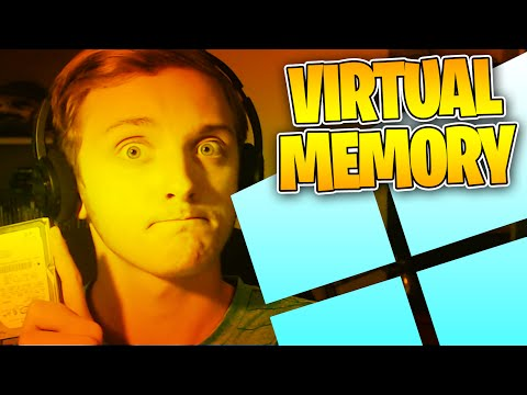 HOW TO ADD VIRTUAL RAM WINDOWS 10 - Virtual RAM Windows 10 - Virtual Memory Tutorial