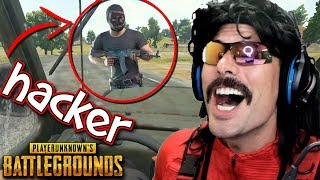 DrDisRespect Encounters Speed Hacker on Battlegrounds and Funny Moments on PUBG!