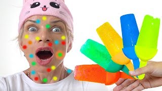 Ice Cream Fruit Popsicles for Kids | The Color Song Nursery Rhymes