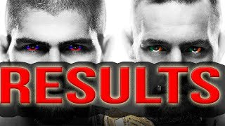 UFC 229 RESULTS