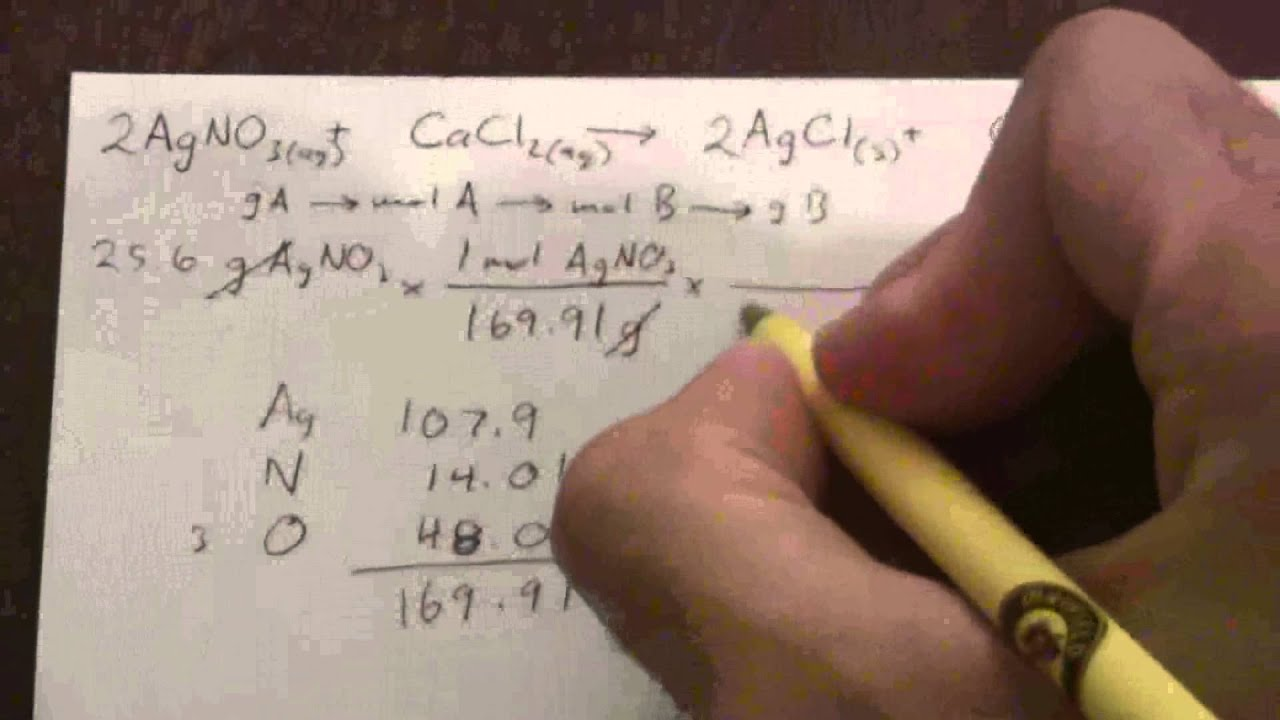 Calculating theoretical yield youtube ccuart Images