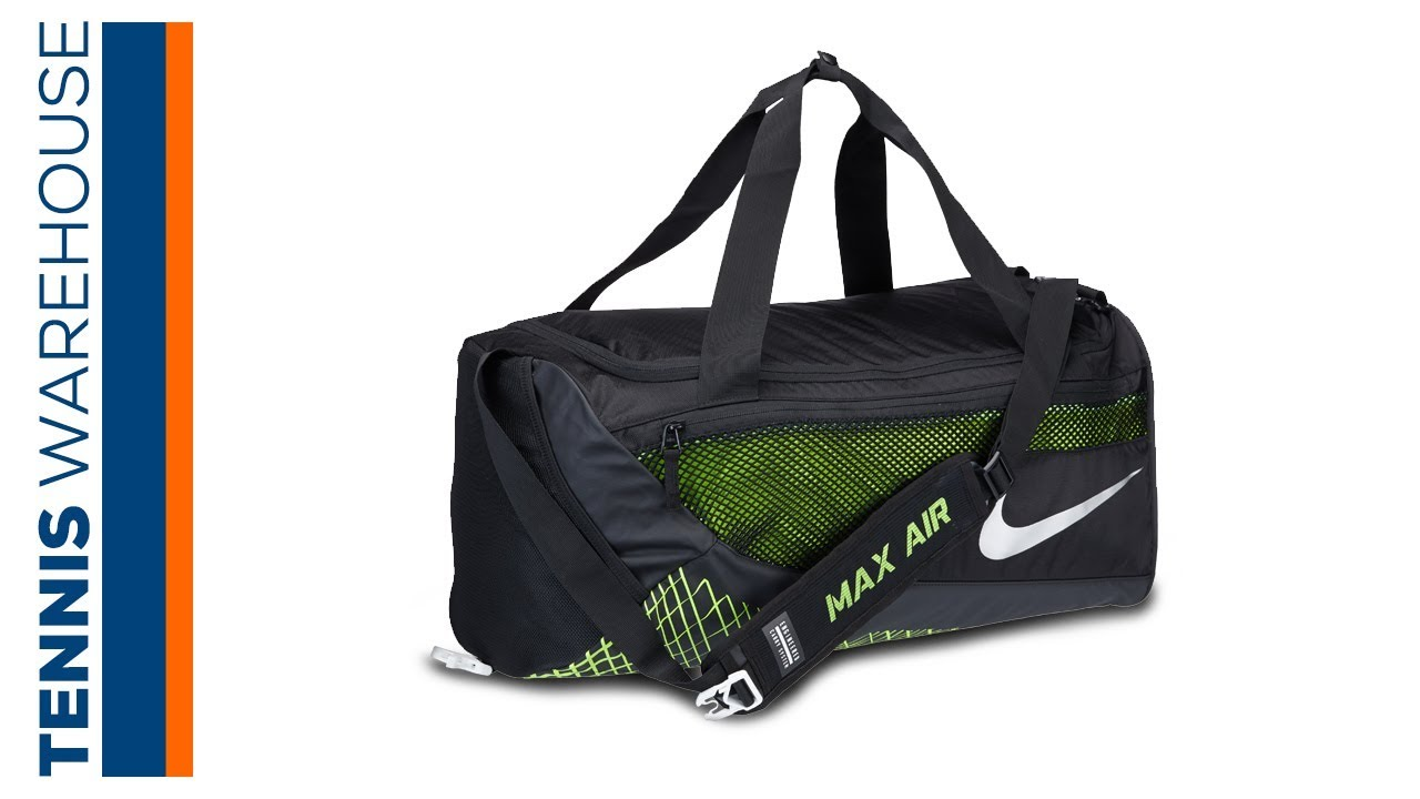b028066ff7b Nike Vapor Max Medium Duffel Bag - YouTube