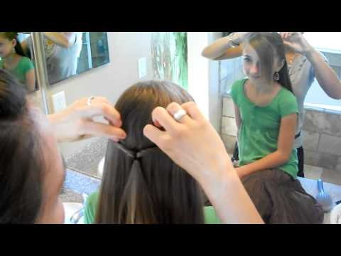 Teen Double Twistback   Cute Girls Hairstyles