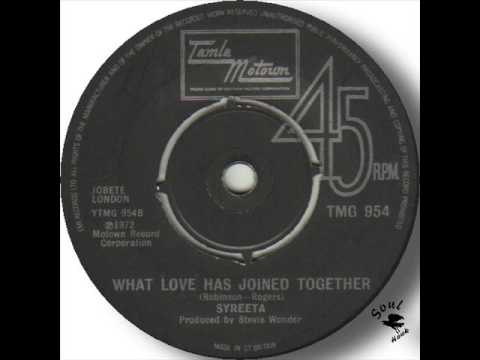 Syreeta   What Love Has Joined Together