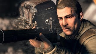 Sniper Elite V2: Elite Difficulty Gameplay & Brutal X-Ray KillCam