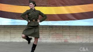 Katyusha dance War Army solo Военный танец Катюша сольный(Anna Kochanova. Fantazy school. Perfomance in concert. Podolsk, Russia 2013. Russian, Soviet Union,song, music, hit. Анна Кочанова. Хореографическая ..., 2013-05-10T09:06:18.000Z)