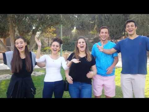Israel XP at Bar Ilan University 5777 Student Interviews, Beth Tfiloh