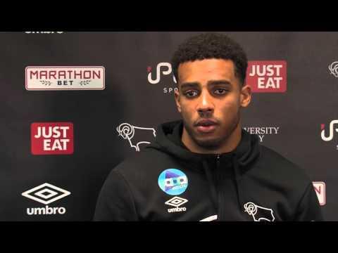 INTERVIEW   Cyrus Christie Pre Huddersfield Town (A)