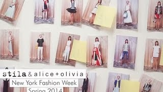Stila + Alice & Olivia at NYFW Spring 2014 Thumbnail