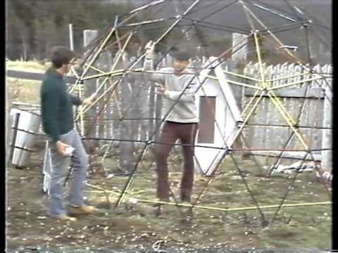 Dome sweet dome  a homemade dome greenhouse
