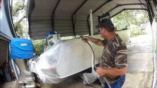 Sharkhide aluminum Cleaner, Acid washing boat,