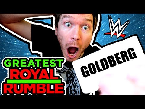 WWE GREATEST Royal Rumble Draw Fan Version!