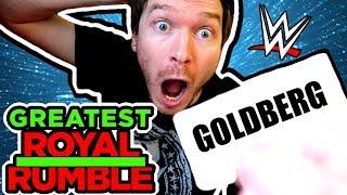 WWE GREATEST Royal Rumble Draw Fan Version!